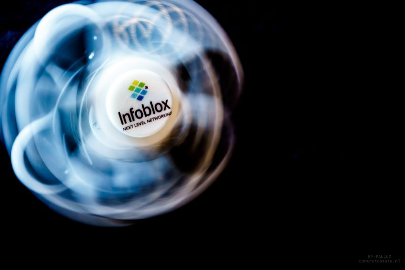 INFOBLOX Roadshow communication material